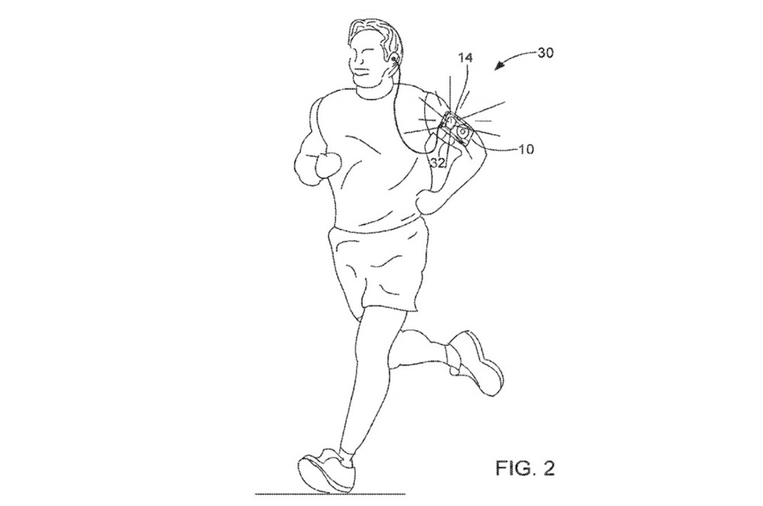 ランニング中にピカピカ? AppleがiPhoneのバックライトを使った安全ランプの特許を出願
