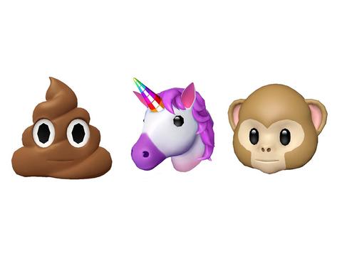 iPhone Xではユーザーの表情を再現する絵文字「Animoji」が使えるみたい