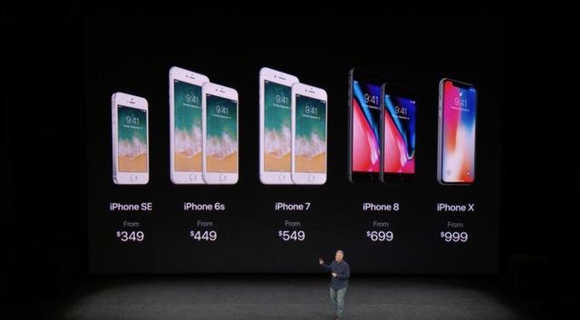 同時に発表された「iPhone 8」と「iPhone X」の違いまとめ