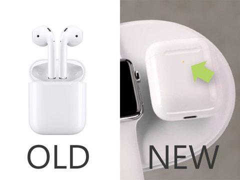 新型AirPodsはワイヤレス充電に対応する
