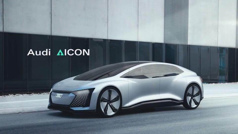 運転席を排除した未来過ぎるコンセプト電気自動車『Audi AICON』