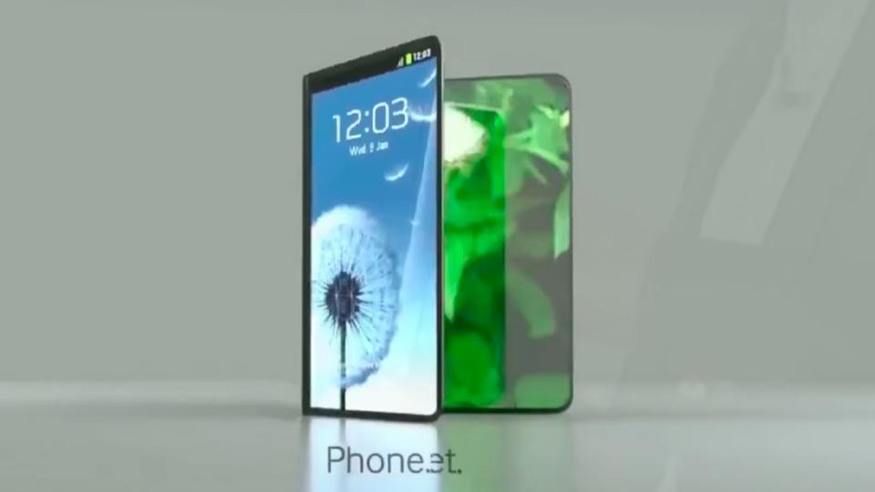 Samsungの折りたたみスマホは来年に到来か。実用…的?