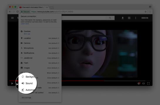 Google Chromeの自動音声再生OFF機能、今年10月と来年1月に順次実装へ!