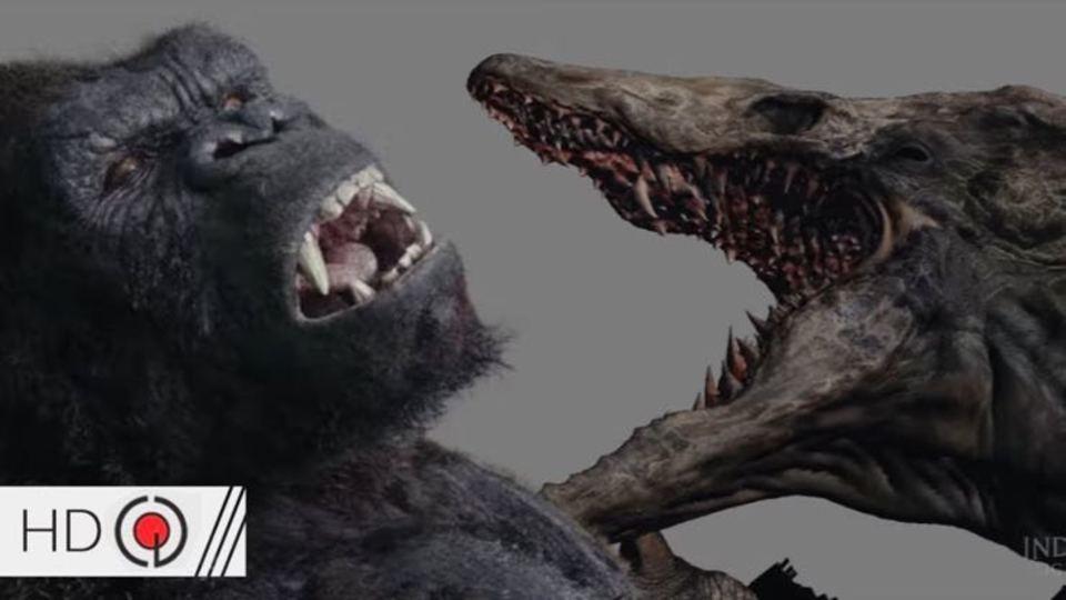 『キングコング:髑髏島の巨神』VFXの裏側映像
