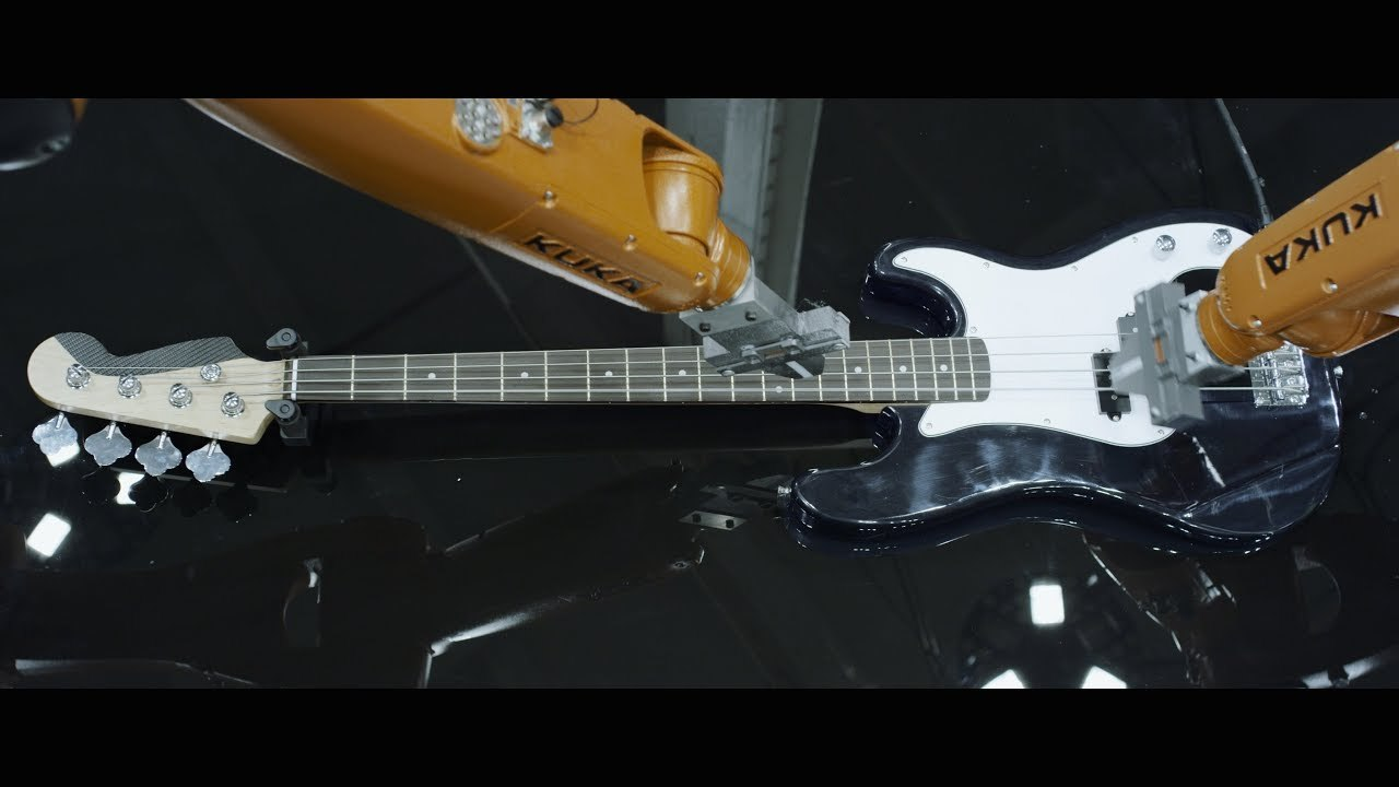 ピアノもDJもイケる。Huaweiの工業用ロボット・アームにバンド演奏させるMV