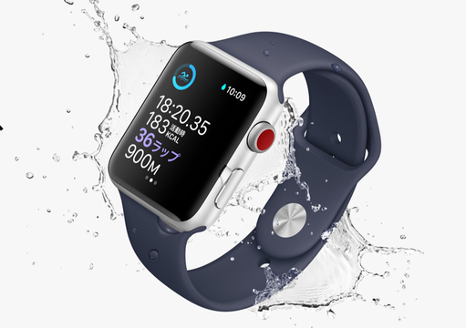 「Apple Watch Series 3」の赤いデジタルクラウンに憧れた方へ