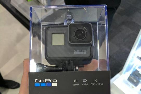 GoPro の新機種「HERO6 Black」らしき画像が流出。4K60fpsや1080p240fps撮影に対応?