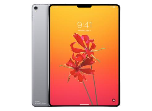 これ欲しい! 「iPad Pro」にベゼルレス有機ELディスプレイが搭載されたコンセプト画像