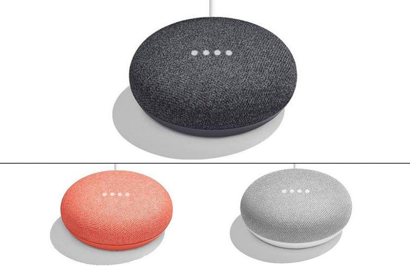 小型Google Homeこと「Google Home Mini」の画像がリーク!カラバリは3色で49ドルから?