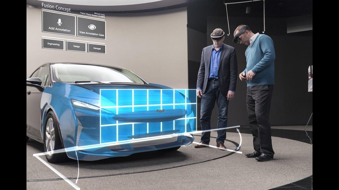 フォードのHoloLensを使ったプロトタイプ制作がとってもSF的