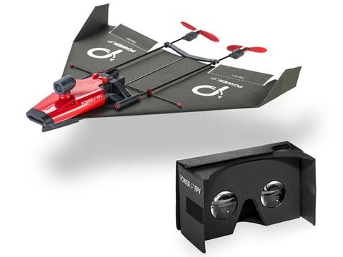 クラウドファンディングのプロジェクトが残り1日! 紙飛行機ドローン「PoweUp」