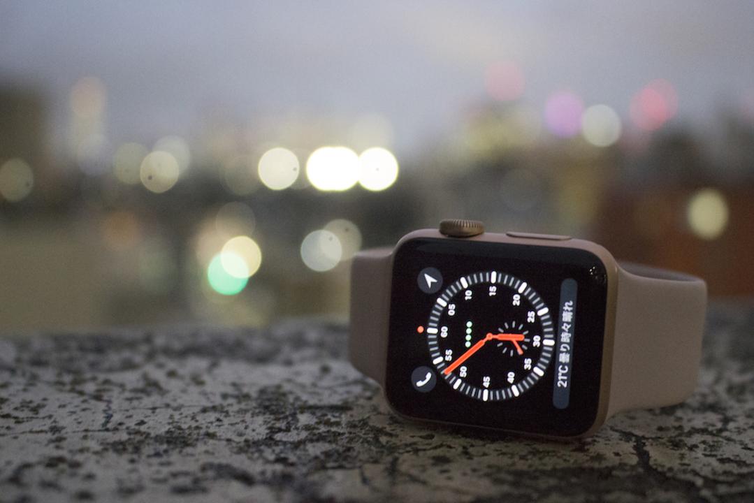 「Apple Watch Series 3」ファーストインプレッション:「iPhoneと共に歩く」ストレスからの解放