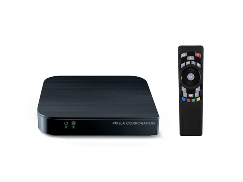 Android TV搭載で4K HDR対応の「PIXELA Smart Box」が発売間近