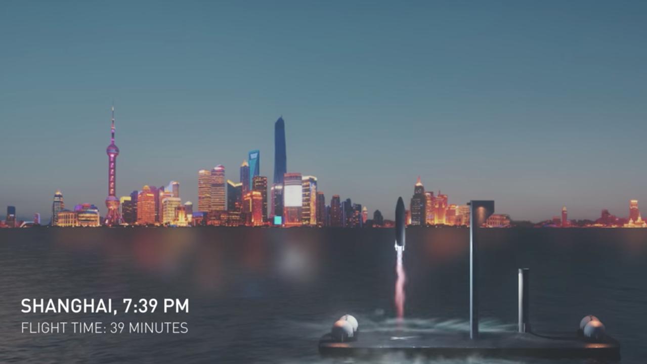 SpaceX「ロケットで地球上どこでも1時間以内に行けるけど、乗る?」