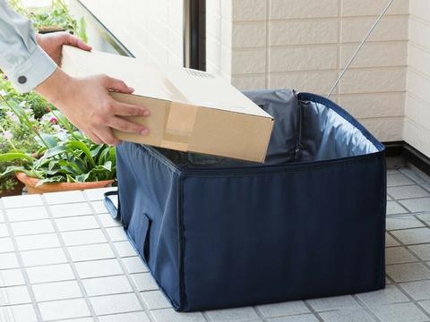お歳暮までに備えておきたい。保冷もできる大容量宅配ボックス「DB-BOX3」