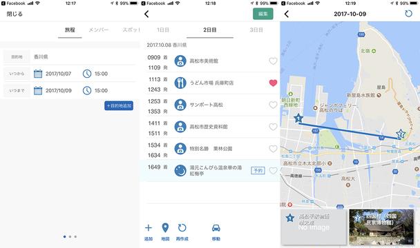 旅下手をアシスト。AIが旅行プランを自動作成してくれる便利なアプリ