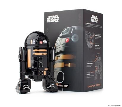 Sphero社から帝国のドロイド「黒いR2」ことR2-Q5のロボット・トイが登場