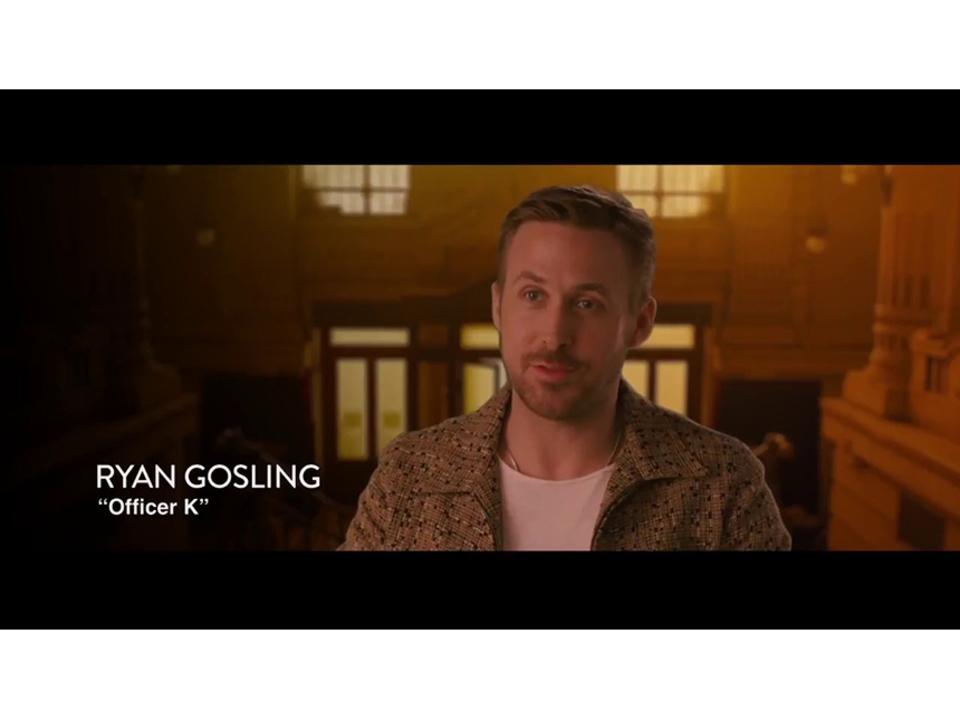 映画『ブレードランナー2049』をキャスト&スタッフが語る