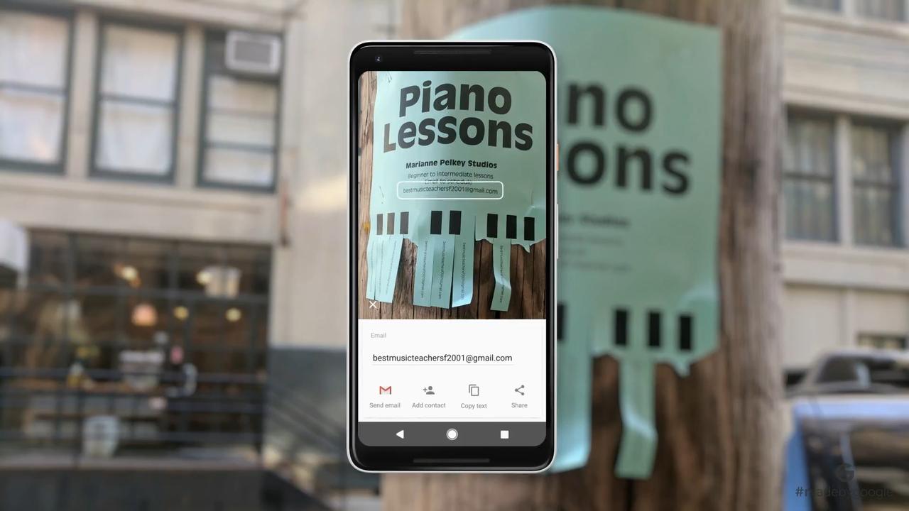 Pixel 2に追加される、見た物を理解する「Google Lens」って何者!?