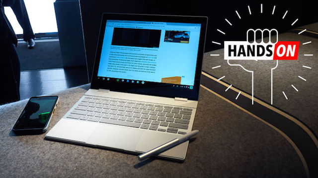 Google Pixelbookハンズオン:999ドルで何ができる?