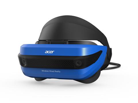 AcerのMRヘッドセット、コンシューマー版が10月17日より発売開始。必要なPCスペックもかなり引き下げ