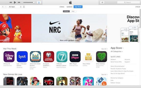 App Storeが復活した「iTunes 12.6.3」ひっそりと配布中…