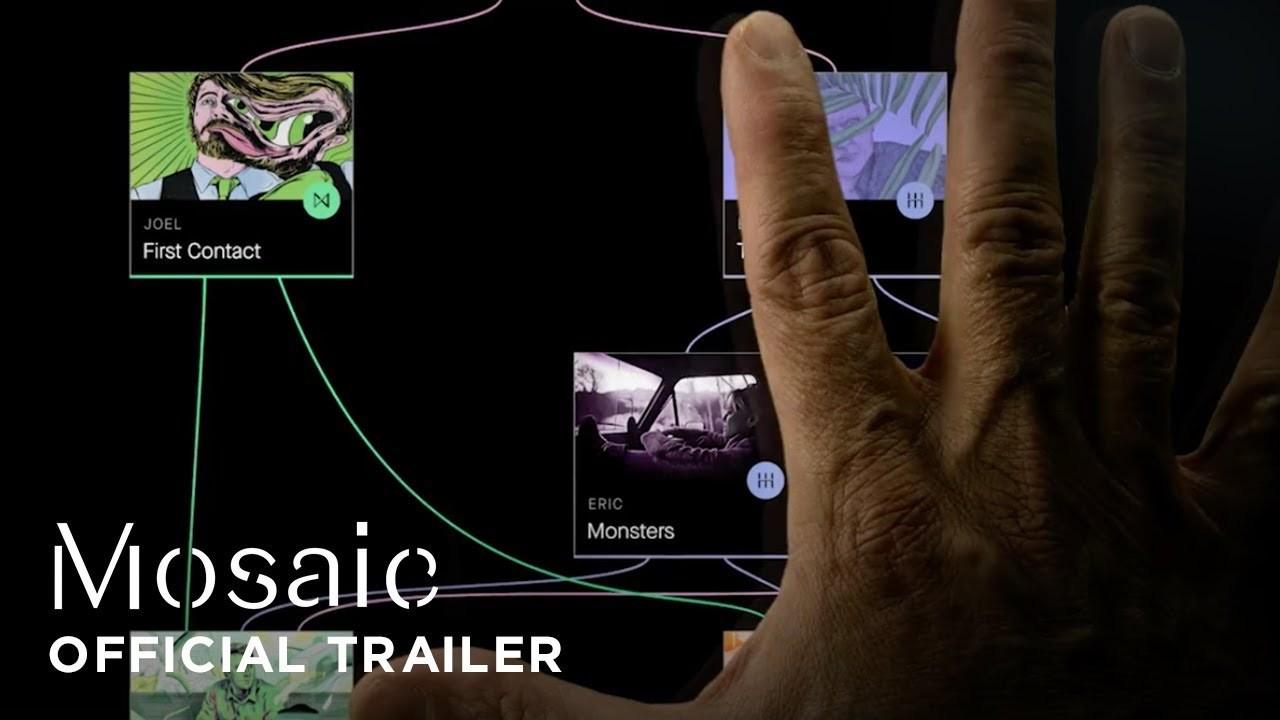 自分で物語を分岐させる。スティーブン・ソダーバーグ監督ドラマ『モザイク』プロモ用iOSアプリ