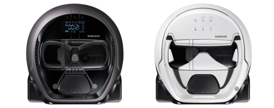 Samsungからダース・ベイダーとストーム・トルーパーのロボット掃除機が登場