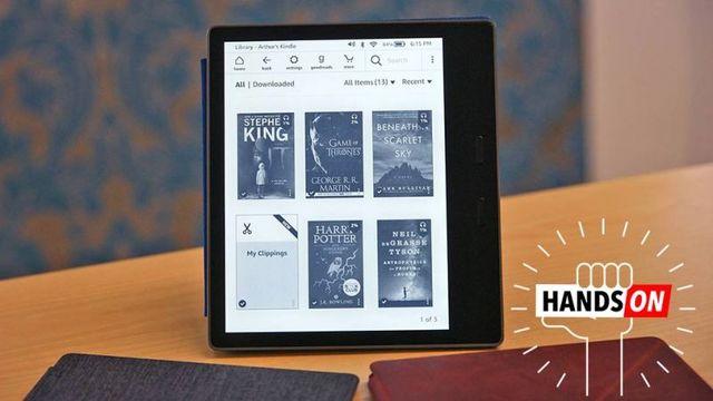 Kindle Oasis (Newモデル)ハンズオン:防水対応で画面がでっかく!