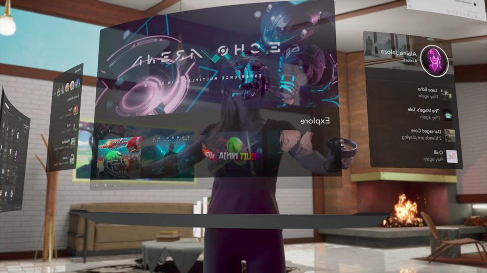 いよいよSF。Oculus Rift、インターフェースを12月に刷新