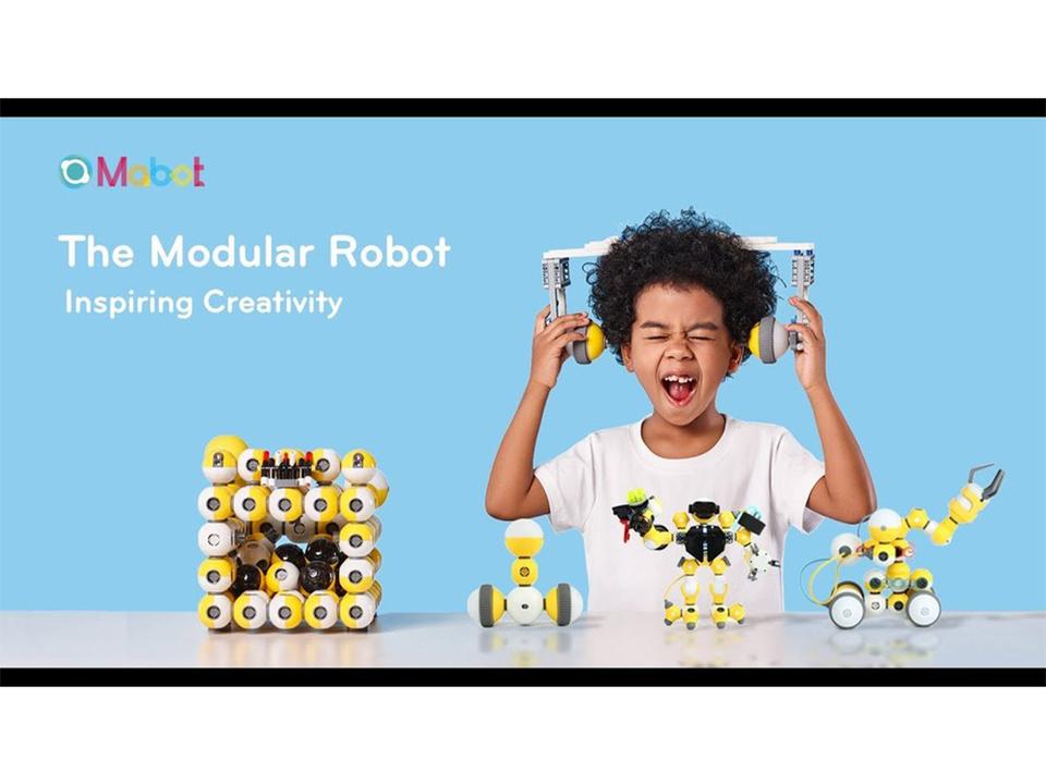 レゴとも合体可能! 自由に組み立てながらプログラミングが学べるロボット「Mabot」