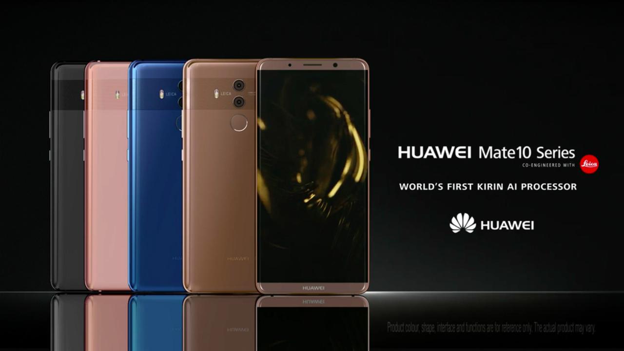 Huaweiがフラッグシップスマホ「Mate 10 Pro/Mate 10」を発表。噂のAIプロセッサ・Krin 970搭載