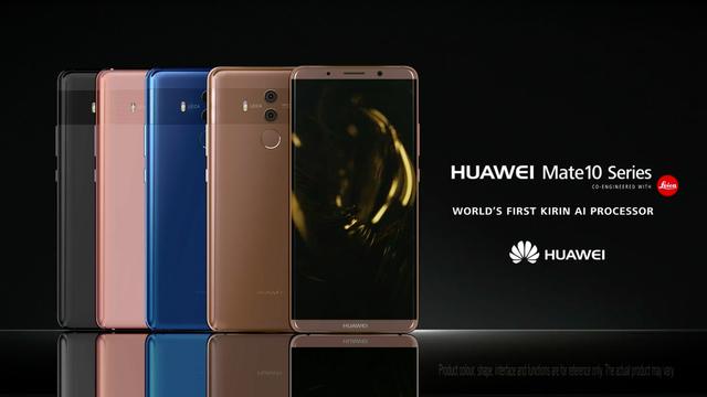 Huaweiがフラッグシップスマホ「Mate 10 Pro/Mate 10」を発表。噂のAIプロセッサ・Krin 970搭載。
