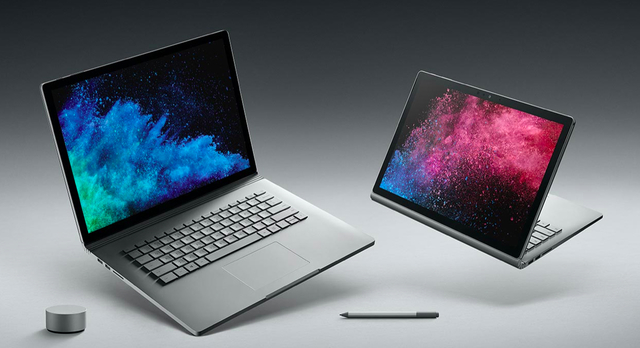 Microsoftの新型ハイエンドノートパソコン「Surface Book 2」登場! 13インチモデルは日本でも販売