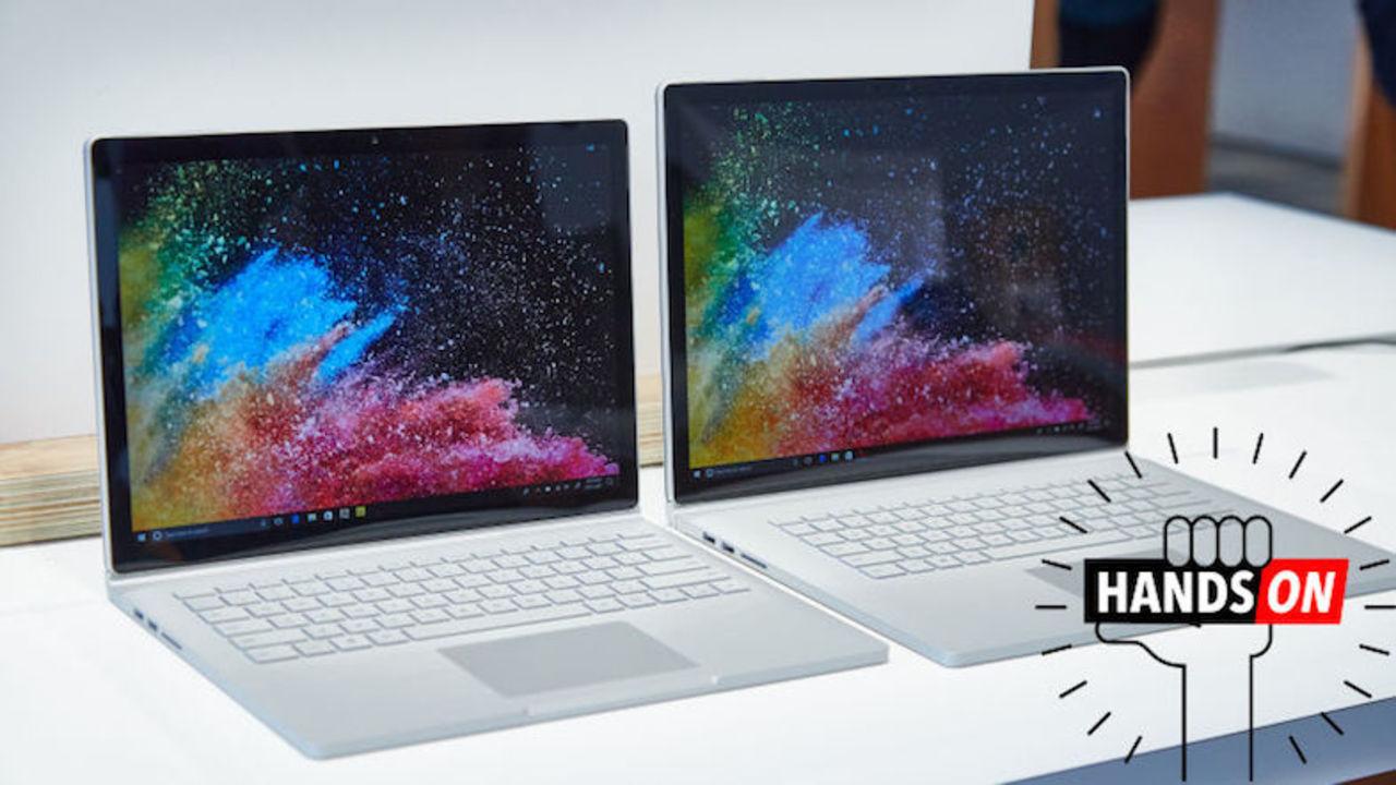 Surface Book 2 ハンズオン:13.5インチと15インチの2サイズ、いずれも驚きの軽さ