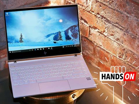 HP Spectreハンズオン: 今一番美しいラップトップかも