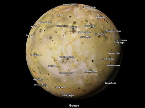 Googleマップで行ける宇宙空間の範囲が拡大! 土星の衛星まで探索できるように