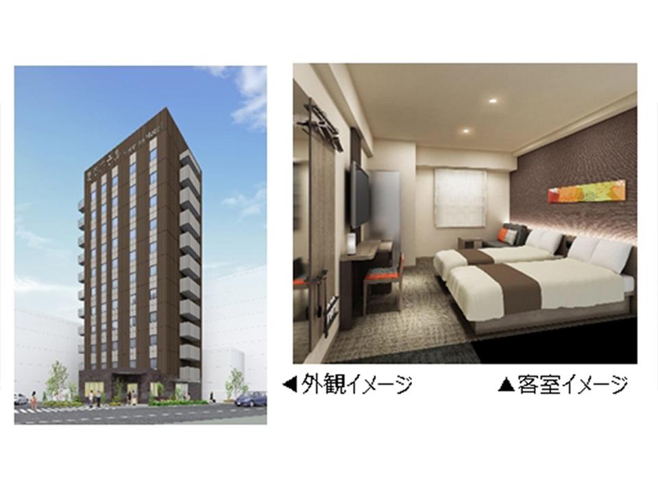 ロボットが接客する「変なホテル」、年内12月に東京へ進出
