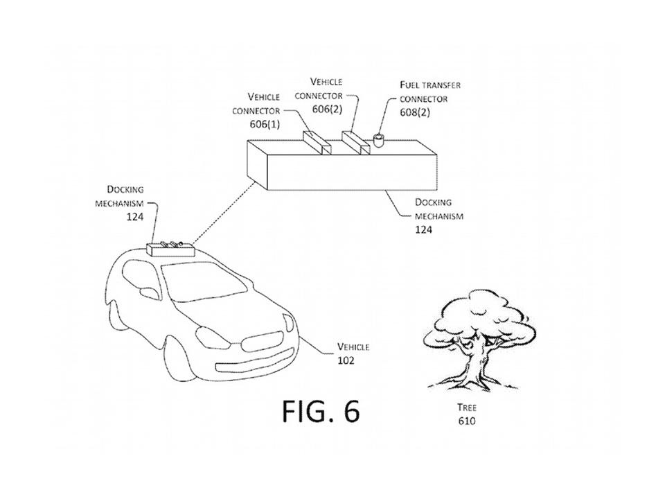 Amazonお得意のドローン芸。今度はドローンで自動車を充電する特許を取得