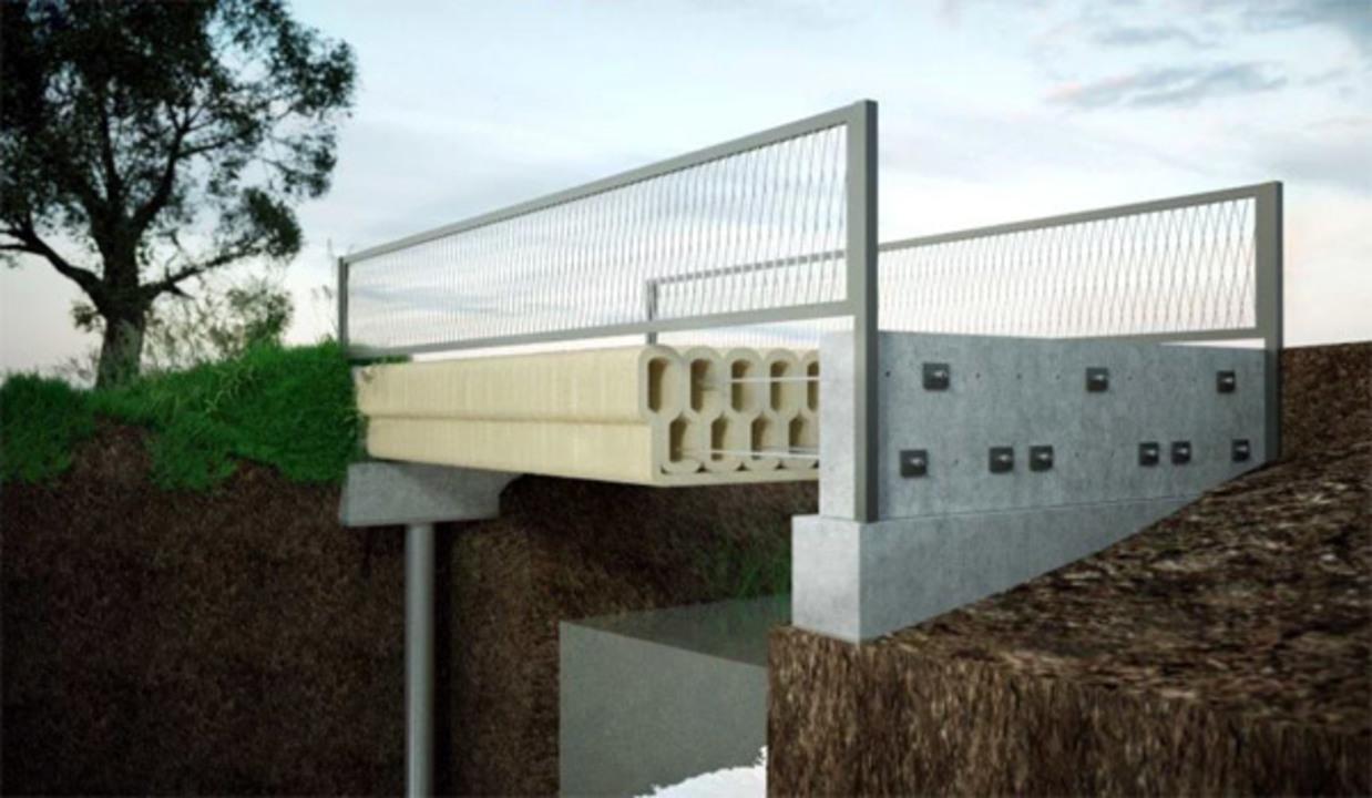 オランダ発:世界で初めてコンクリートで3Dプリントした橋がかけられる