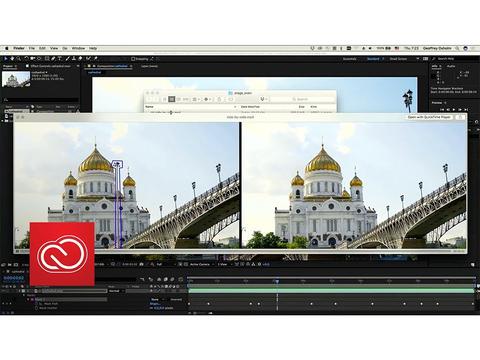映像中の不要な物体をリアルタイムで消す、Adobeの動画編集ソフト「Cloak」