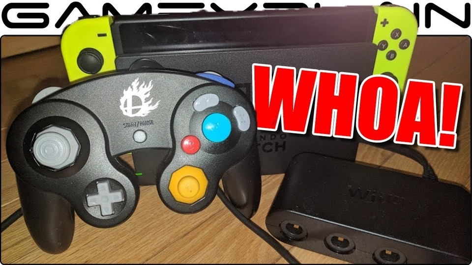 「ニンテンドースイッチ」でゲームキューブのコントローラーが使えた!