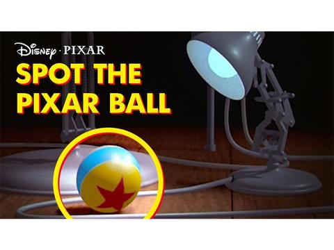 ピクサー映画にひっそり描かれる、星印ボールの登場シーンまとめ映像