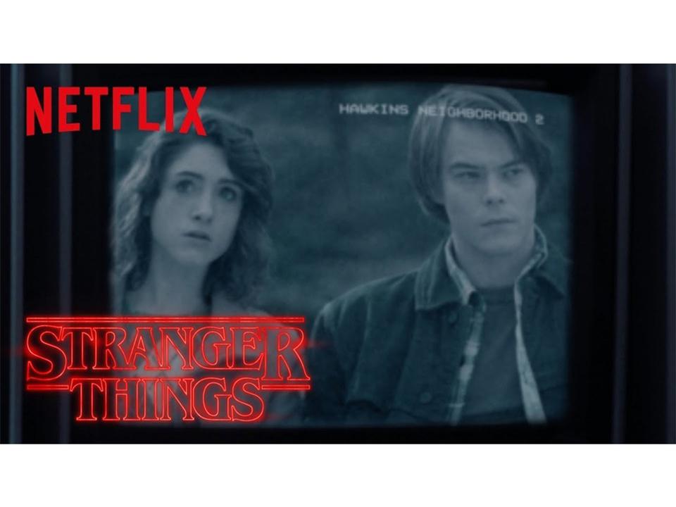 監視カメラが町のすべてを見ている…。Netflixドラマ『ストレンジャー・シングス 未知の世界』シーズン2のティーザー予告編集
