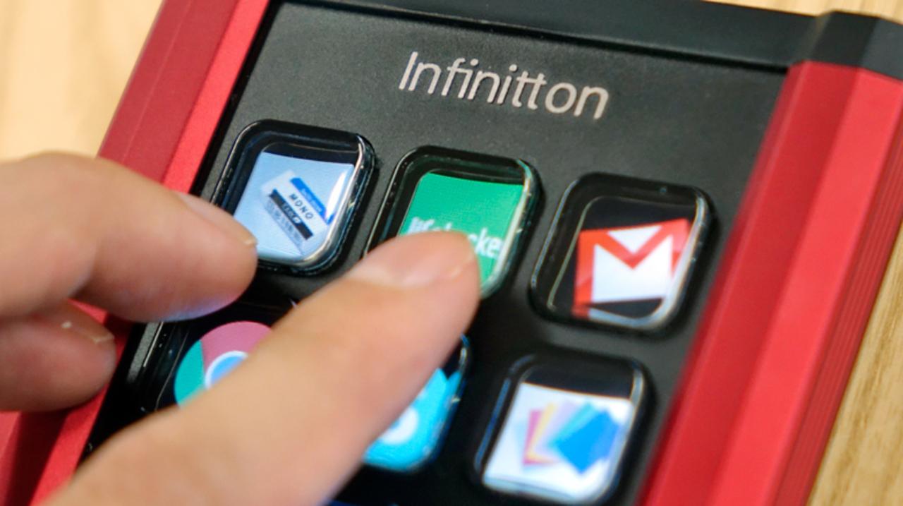 つい押したくなる魅惑のボタン。ファンクションキーを自由に組める「Infinitton」を使ってみた