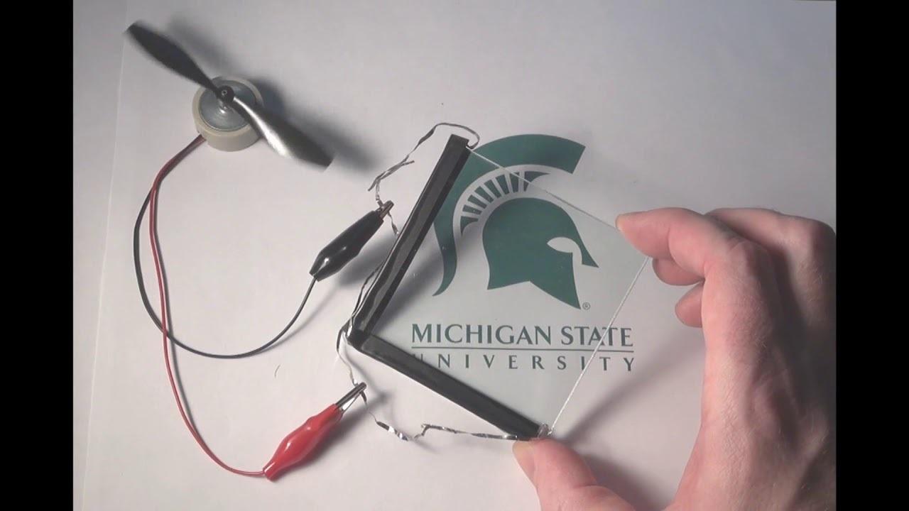 製品化に超期待! ミシガン州立大学にて透明ソーラーパネルの研究が進行中