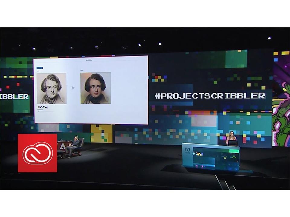 Adobe先生スゴい! AIで白黒の絵をカラフルにする「Project Scribbler」デモ動画