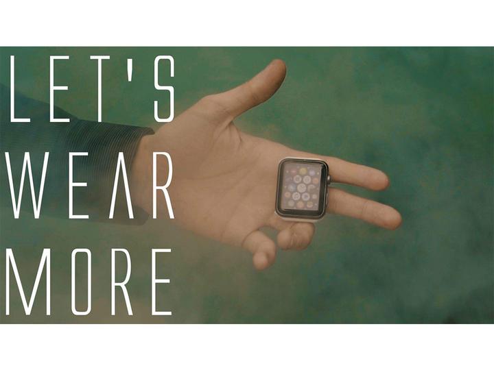 新たな使い方を開拓! 片手で操作できるApple Watch用スマホリング風アクセサリー「PALM」。