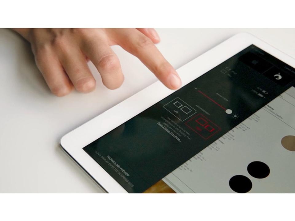 iPadカメラをボタンにするアイディア、却下される