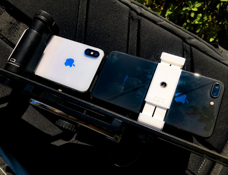 iPhone XとiPhone 8 Plus。どっちの望遠手ブレがすごいでShow